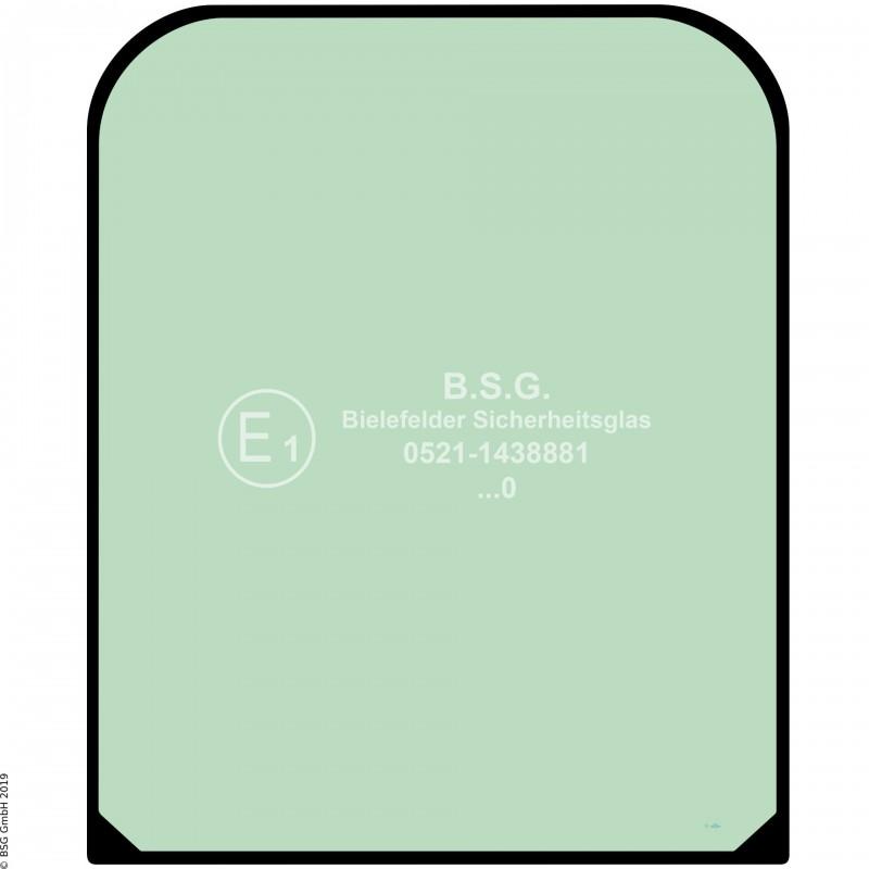 A00 - Frontscheibe Case New Holland BaggerE175B-E385B Frontscheibe oben