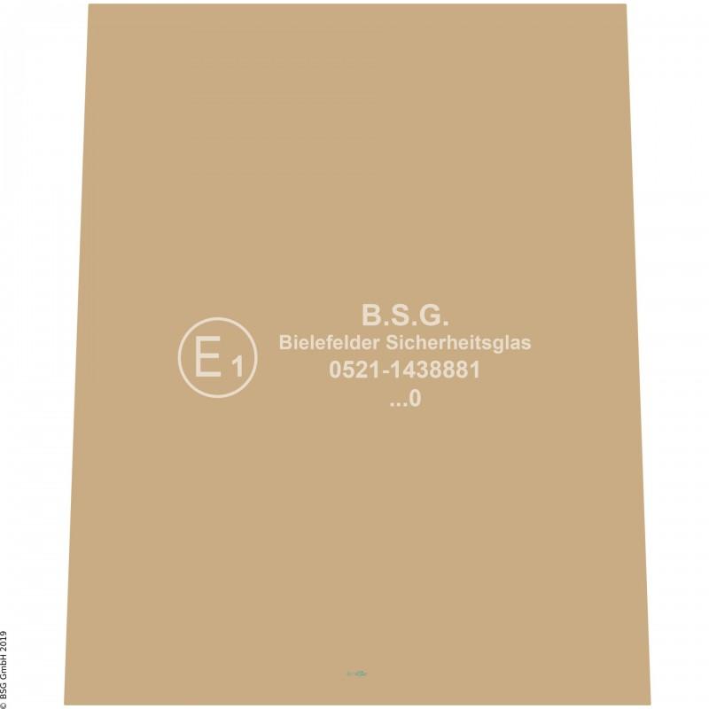 B00 - Heckscheibe Atlas Radlader42C - 86E Heckscheibe (Serie E)