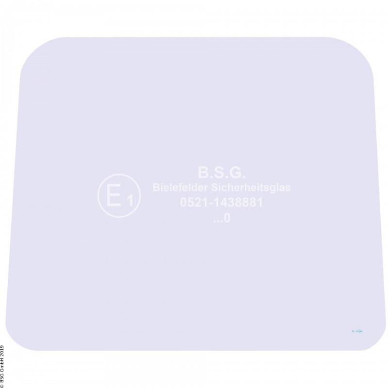 A00 - Frontscheibe Zettelmeyer RadladerZL 401, 401B (ab FgNr. 9308001) Frontscheibe