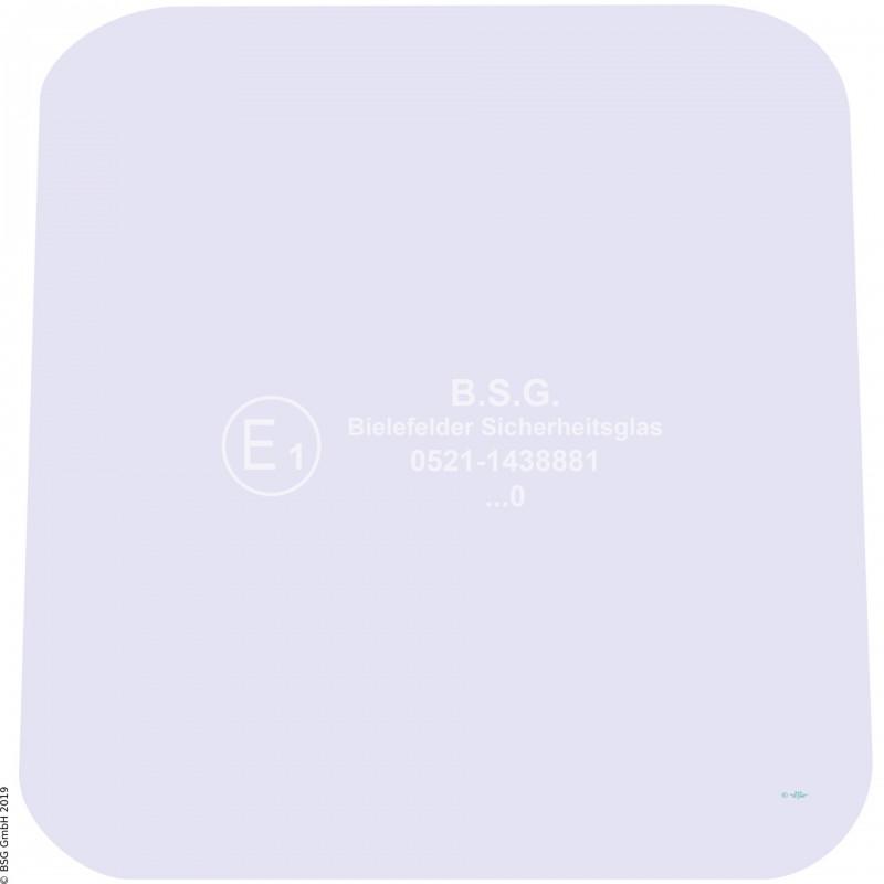 A00 - Frontscheibe Zettelmeyer Radlader & KettenladerZL 501, 601 (ab FgNr. 9034001) Frontscheibe