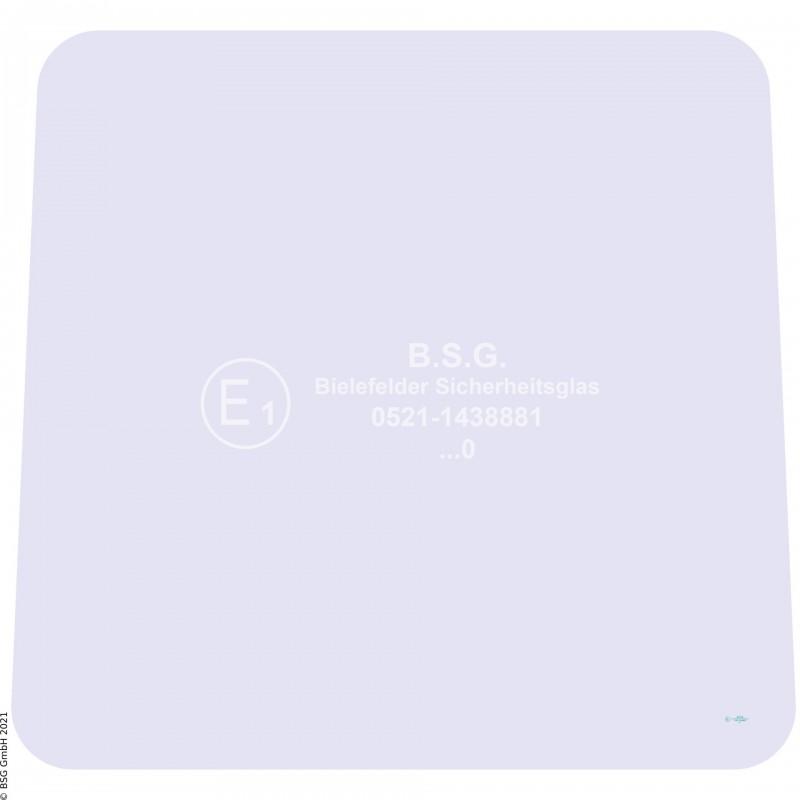 B00 - Heckscheibe Zettelmeyer Radlader & KettenladerZL 602, 702 (ab FgNr. 6201001) Heckscheibe