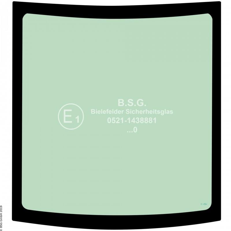 B00 - Heckscheibe Case New Holland BaggerE16, E18 Heckscheibe