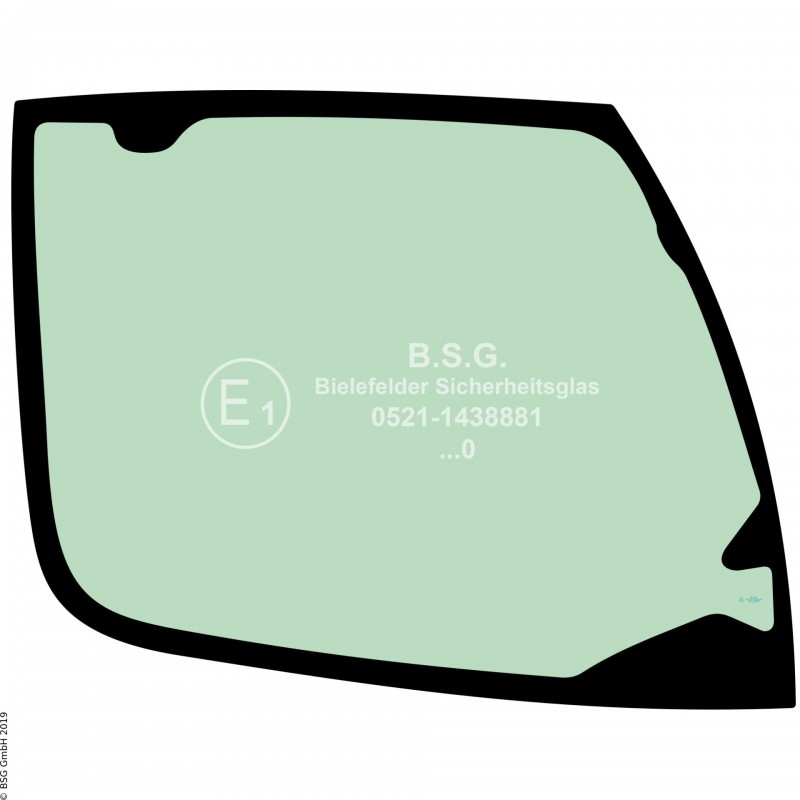 R00 - Seitenscheibe rechts Liebherr BaggerA910  - A928 Compact (2013er Kabine) Seitenscheibe rechts