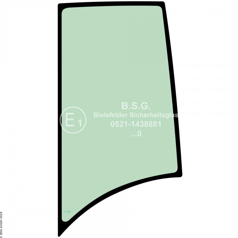 L00 - Seitenscheibe links Zeppelin BaggerZR 15, 25, 35, 45 Linke hintere Seitenscheibe